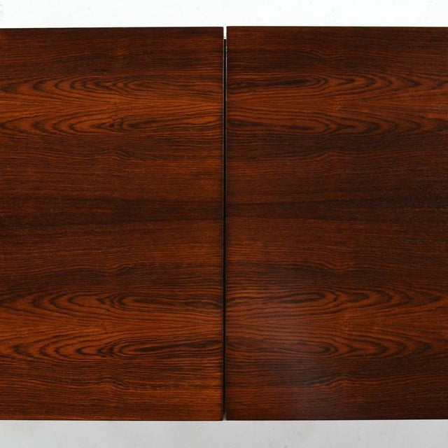 Metal Florence Knoll Rosewood Table or Bench For Sale - Image 7 of 10