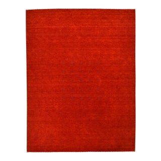 Solid Handmade Area Rug - 9 X 12 For Sale