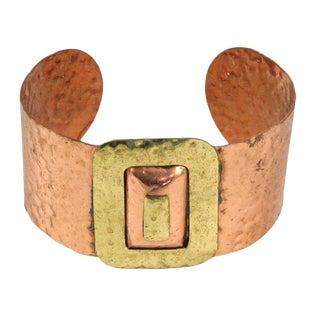 Copper Cuff Bracelet For Sale