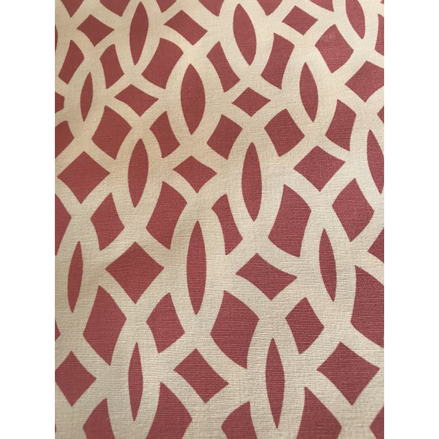 Schumacher CHAIN LINK CERISE Fabric Collection: TESSERA Since 1889 we've been setting the bar with our exceptional...