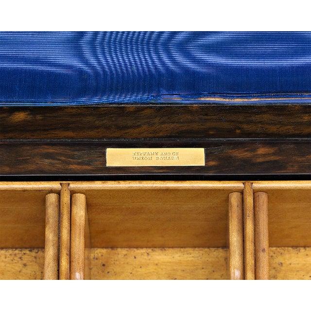 Late 19th Century Tiffany & Co. Coromandel Writing Box For Sale - Image 5 of 6
