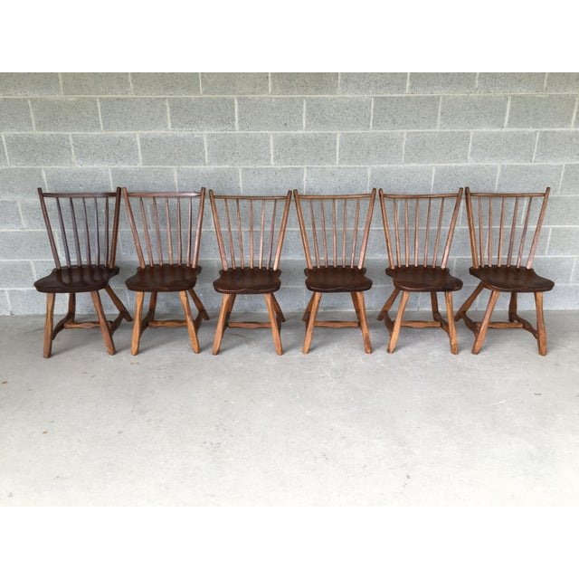 Hunt Country Furniture Birdcage Dining Chairs/Windsor Chairs - Set of 6 For Sale - Image 12 of 12