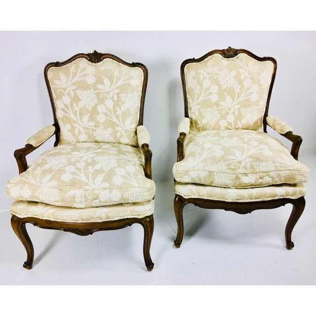 Mid Century Meijer Gunther Martini French Country Style Chairs - a Pair For Sale - Image 13 of 13