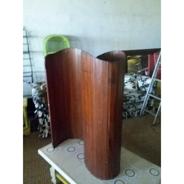 S.N.S.A. French Slatted Wood Room Divider For Sale - Image 4 of 8