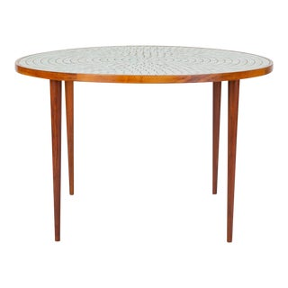 Tile-Top Dining Table by Gordon & Jane Martz for Marshall Studios For Sale