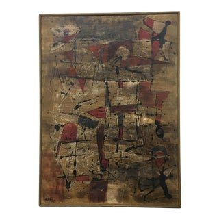 Abstract Painting by Alberto Sartoris For Sale