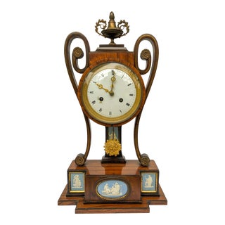 Exceptional Wedgwood Mantel Clock For Sale