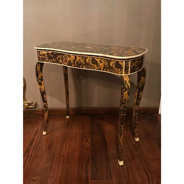 French 1920s Antique French Occasional Table For Sale - Image 3 of 5