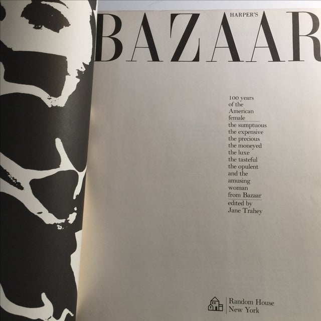 Mid-Century Modern Harpers Bazaar: 100 Years of the American Female For Sale - Image 3 of 11