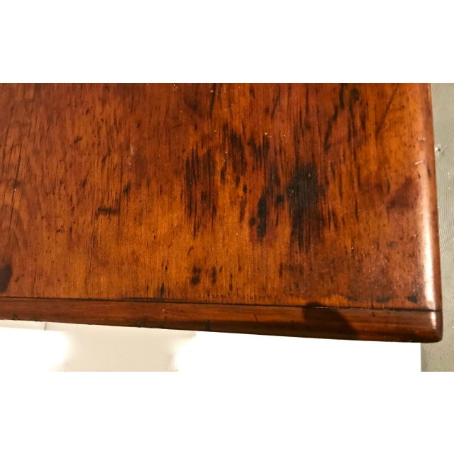 Wood 1790 Traditional Tavern Center Table For Sale - Image 7 of 12