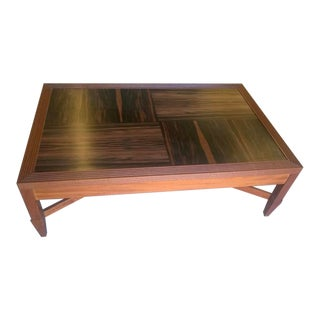 Transitional Holly Hunt John Hutton Design Chariot Cocktail Table For Sale