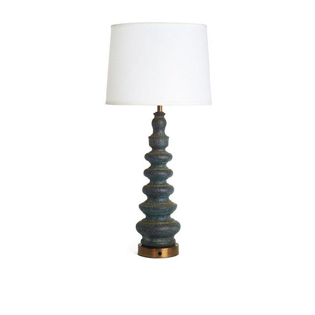 Mid-Century Italian Ceramic Table Lamp - Image 2 of 2