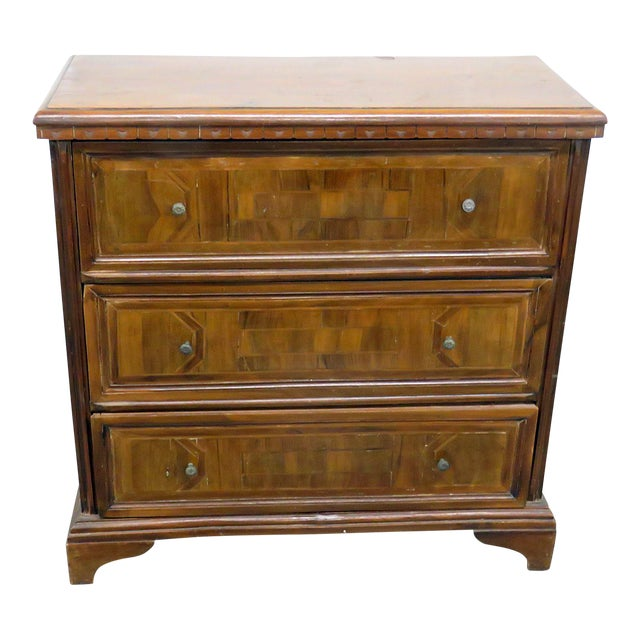 20th Century Italian Inlaid Commode For Sale