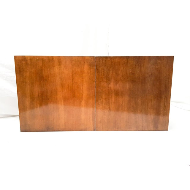 Mid-Century Asian Modern Maple Bunching Tables For Sale - Image 6 of 9