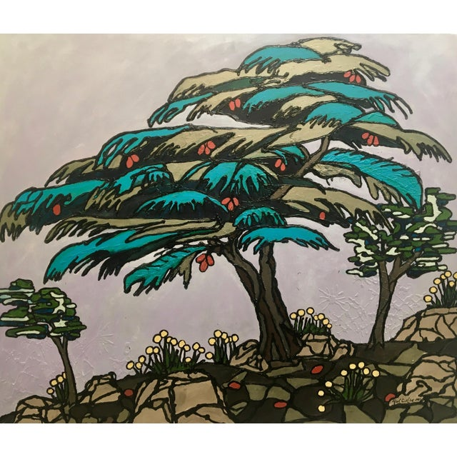Cedar of Lebanon, Kaleidoscopic Perspective Series an original work of art by Artist Ron Curlee II This series is a...