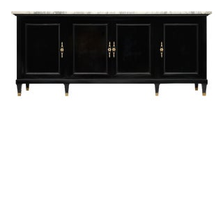 Empire Style Ebonized Buffet For Sale