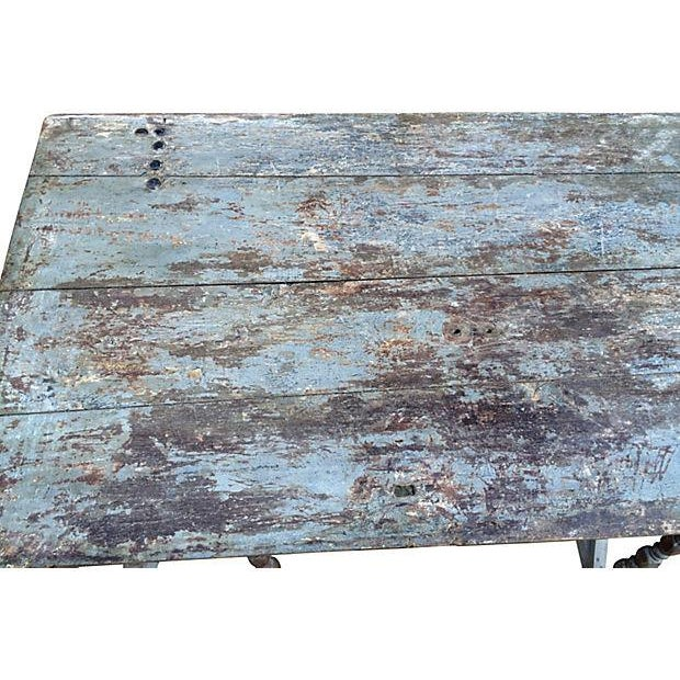 French Farm Door Table - Image 2 of 3