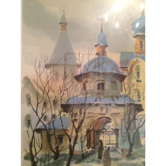 "Anatole Krasnyansky ""Rustov Kremlin"" Serigraph - Image 7 of 8"