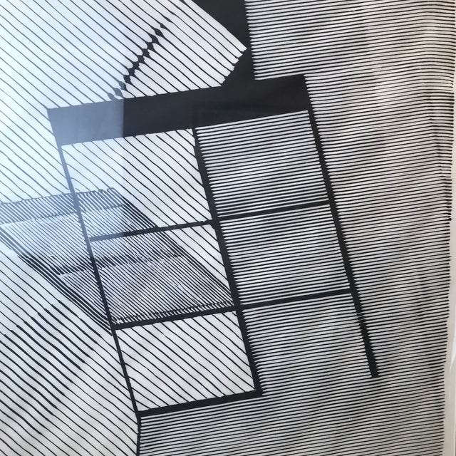 1980 Geometric Modern Lithograph For Sale - Image 4 of 7