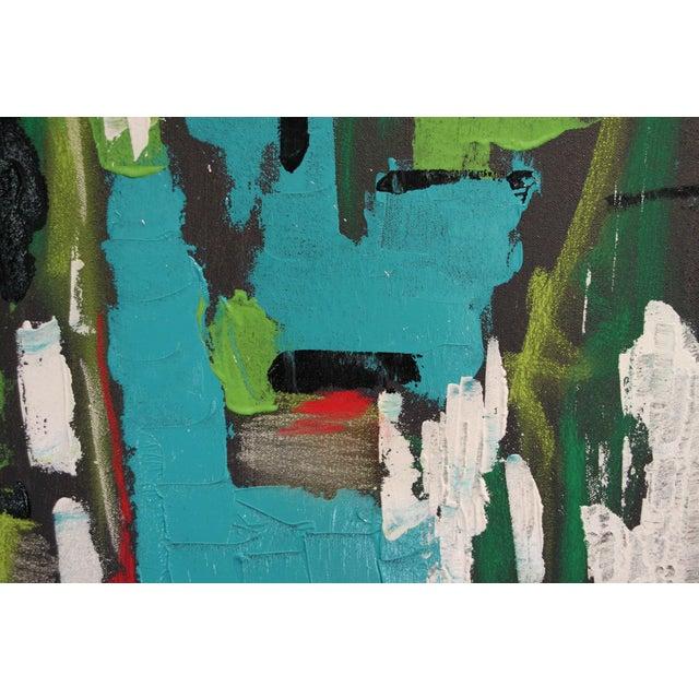 "2017 ""BU 4"" Abstract Acrylic Painting - Image 6 of 10"
