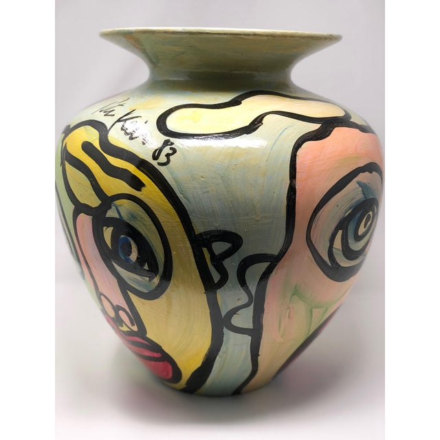 "1980s 1980s Abstract ""Sculpture Vase"" by Peter Keil For Sale - Image 5 of 7"