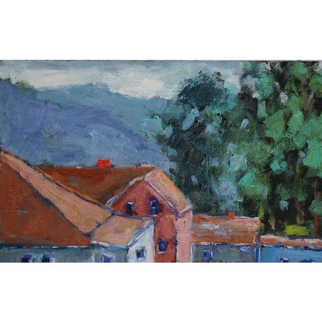Original Oil Painting Landscape, Fort Bragg California For Sale - Image 4 of 13