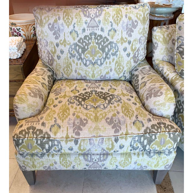 Lee Industries Lounge Chairs- a Pair For Sale - Image 10 of 13