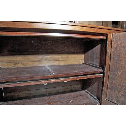 Mahogany Late 19th Century English Bookcase For Sale - Image 7 of 11