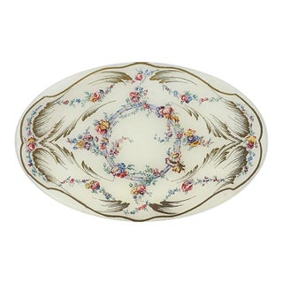 John Derian Sevres Oval Plate For Sale