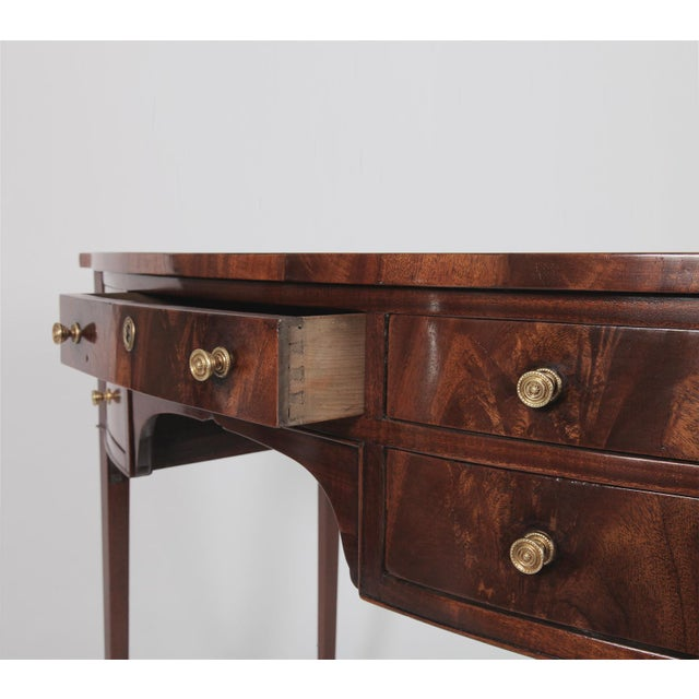 Antique English Regency Dressing Table For Sale - Image 4 of 9