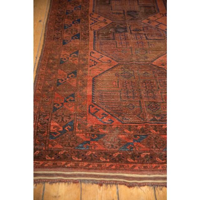 "Boho Chic Vintage Ersari Carpet - 7'6"" X 11'4"" For Sale - Image 3 of 12"