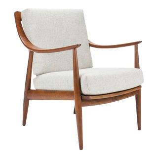 1950s Vintage Peter Hvidt & Orla Molgaard Nielsen Danish Modern Armchair For Sale