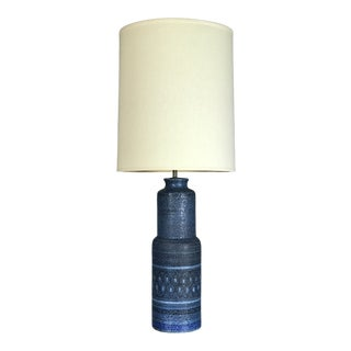 Monumental 1960's Italian Ceramic Table Lamp by Bitossi for Raymor For Sale