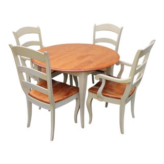 1990s Vintage Nichols & Stone Avignon Dining Set For Sale