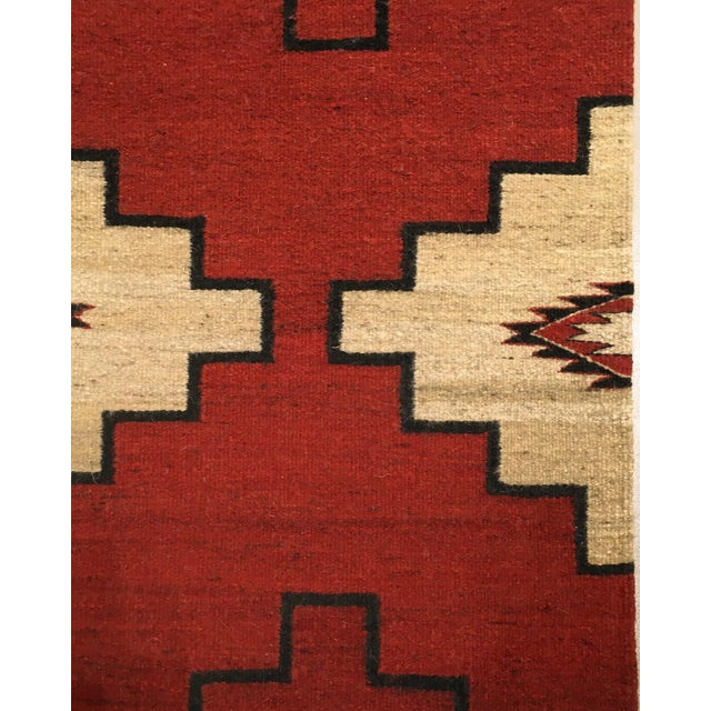 """2010s Navajo Inspired Rug-4' X 6'1"""" For Sale - Image 5 of 6"""