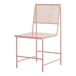 Foreman Brothers Flux Dining Chair in Nude For Sale