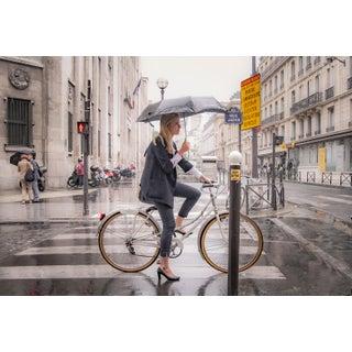 """Paris Bicycle"" Contemporary Figurative Street Scene Photograph For Sale"