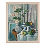 Image of 1940s Vintage Svend Aage Lindstrøm Still LIfe Painting For Sale