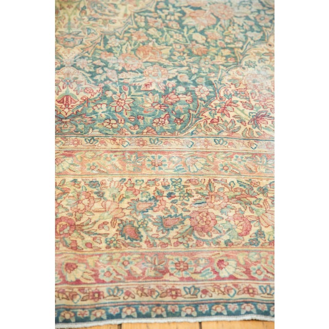 Old New House Vintage Distressed Kerman Carpet - 10' X 16' For Sale - Image 4 of 13