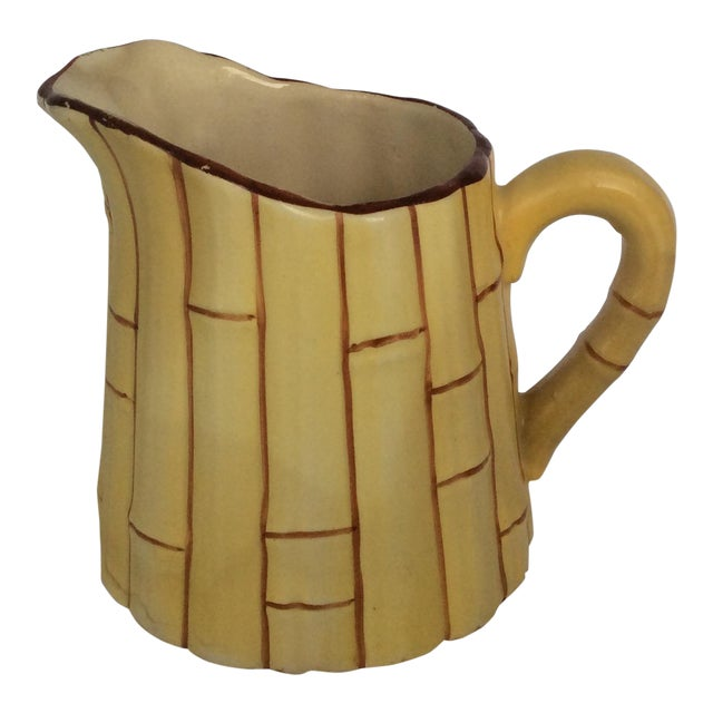 Antique Czechoslovakian Cream Pitcher For Sale
