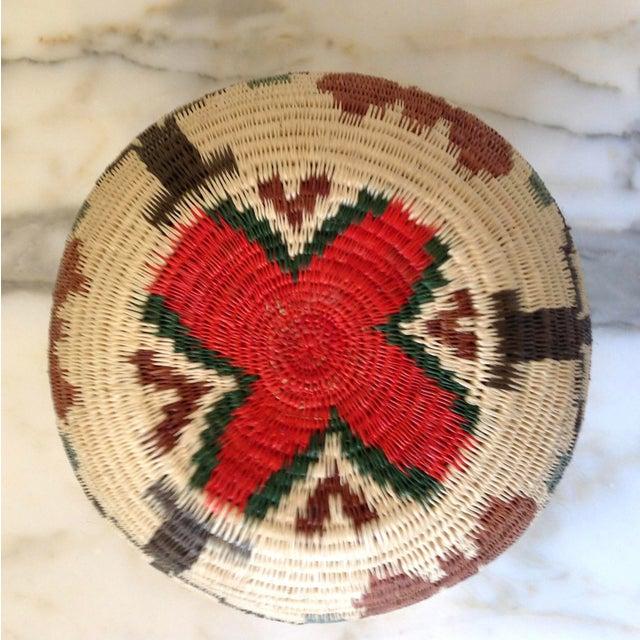 Figurative-Style Woven Wounaan Basket - Image 5 of 7
