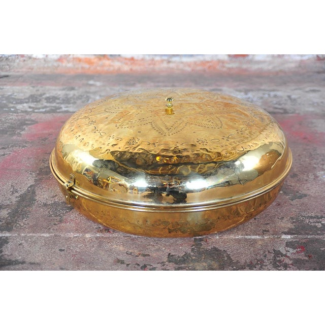 Antique 19th Century Brass Foot Warmer For Sale - Image 10 of 11