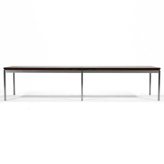 Florence Knoll Rosewood Table or Bench For Sale - Image 9 of 10