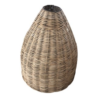 Farmhouse Basket Light For Sale