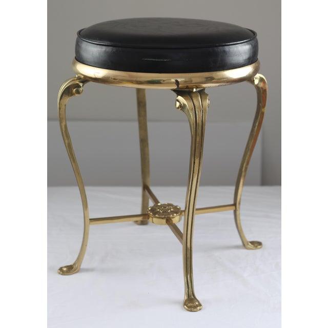 Hollywood Regency Style Vanity Stool - Image 3 of 7
