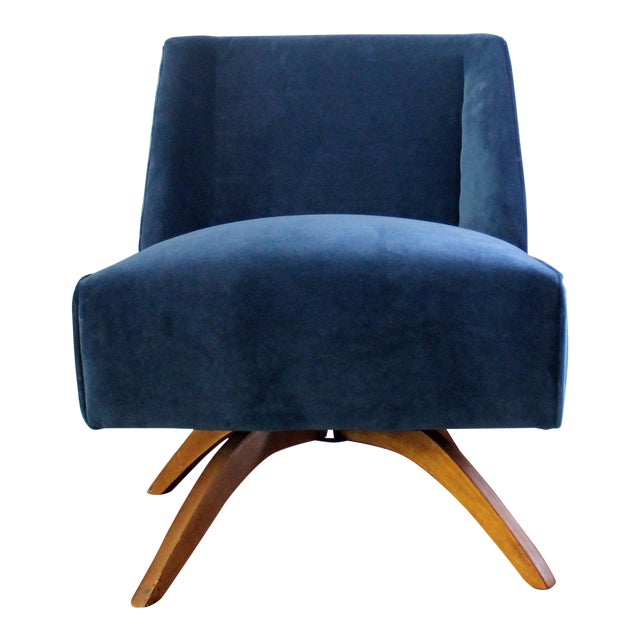 Vintage Mid Century Modern Accent Chair - Image 1 of 9