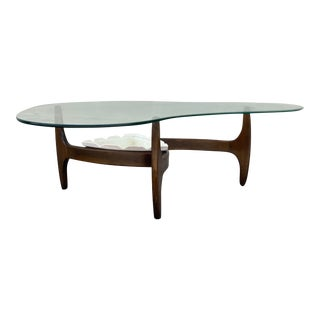 20th Century Adrian Pearsall Coffee Table With Planter For Sale