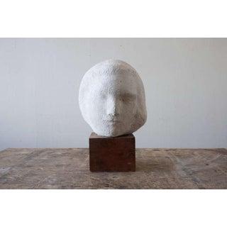 Gaetano Cecere Plaster Sculpture Wood Base #10 Preview