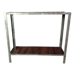 Handmade Industrial Console Table