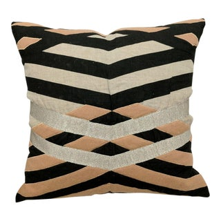 "22"" Blush Linen Pillow"